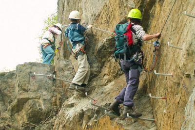 Klettersteig Nochern : Mittelrhein klettersteig boppard wanderkompass