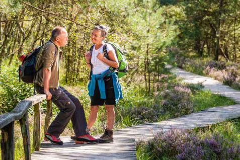 Auf Schusters Rappen, Wandern ohne Gepäck