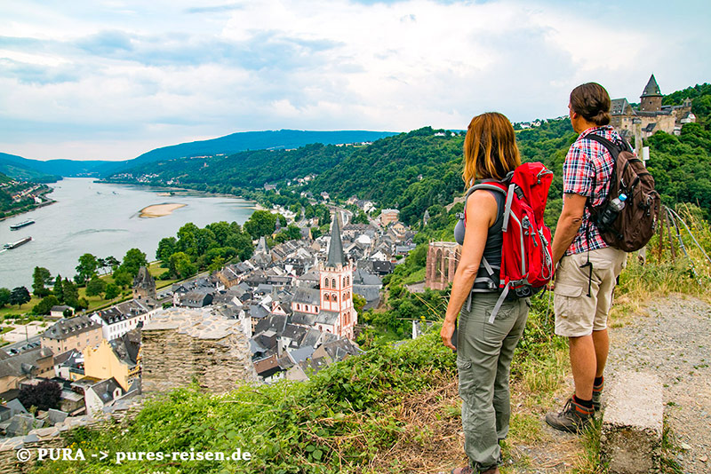 Rheinburgenweg: Wandern & Staunen
