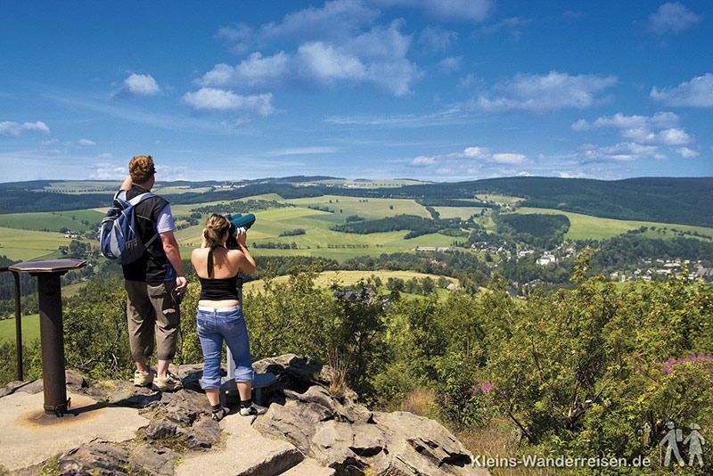 Tour Erzgebirge Kammweg