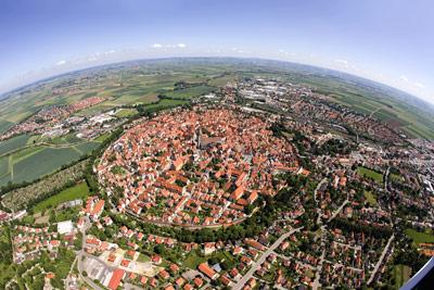 Romantische Straße ab Rothenburg ob der Tauber