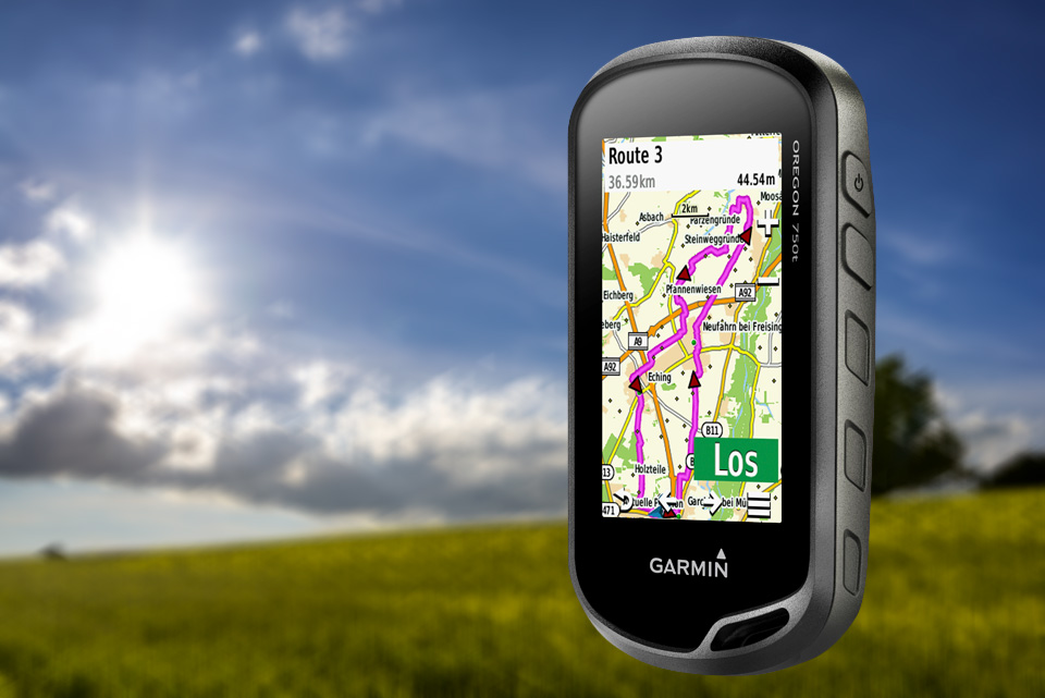 Garmin Oregon – Der smarte Outdoor Guide