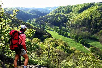 Wandern ohne Gepäck im Harz am Selketal-Stieg