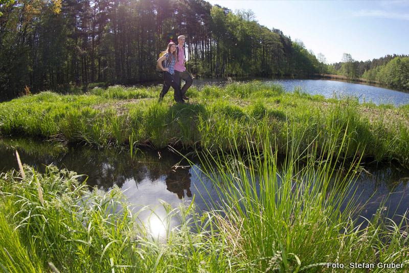 Der Oberpfälzer Seenweg - Wandererlebnis