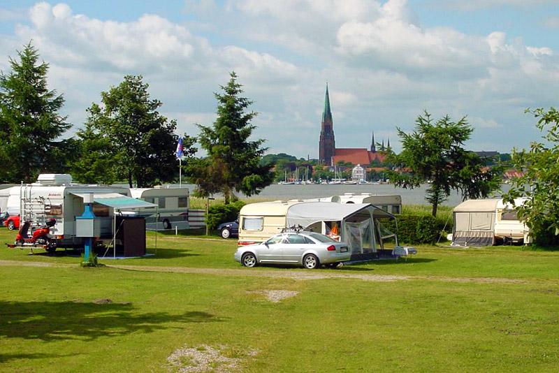 Wikinger Campingplatz Haithabu