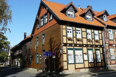 Altstadt pension orchidee for Pension wernigerode