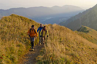 Wandertriologie Allgäu