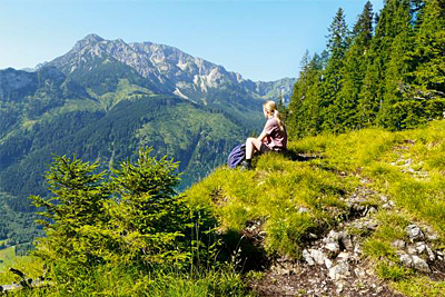 Gipfel und Almen im Oberallgäu